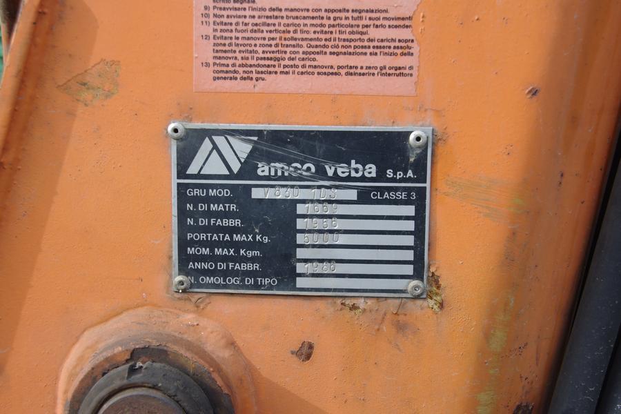 HDS. Dźwig,  żuraw,  5000 kg. sklep.galicja.net.pl 3